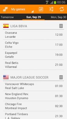 Sporee - Live Soccer Scores-2