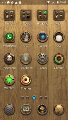 Steam Punk Hola Launcher Theme-2