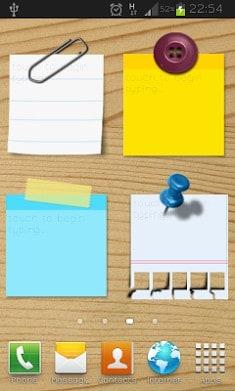 Sticky Notes Widget Free-1