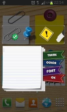 Sticky Notes Widget Free-2