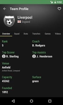 The Soccer Livescore App-2