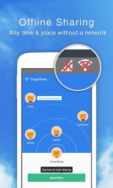 snap share offline transfer apk download for android