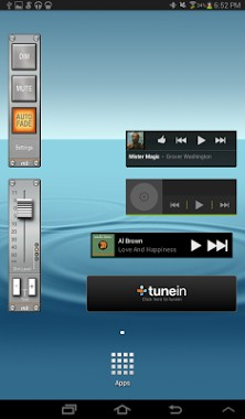 AudioBar Media Volume Widget-1