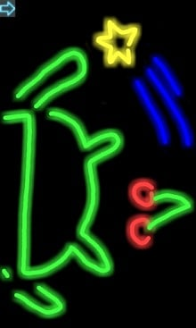 Drawing neon-1