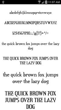 Fonts for FlipFont 50 -6-2