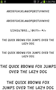 Fonts for Galaxy FlipFont Free-1