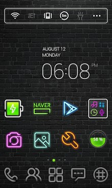 Neon Sign dodol Theme-1