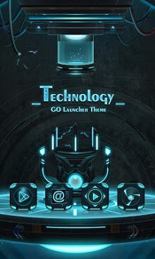 Technology GO Launcher Theme-1