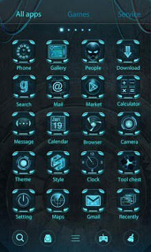 Technology GO Launcher Theme-2
