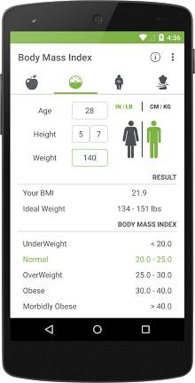 BMI Calculator - Healthy Weight-2