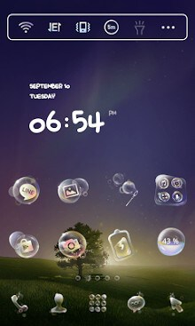 Soap Bubble Dodol Theme-1
