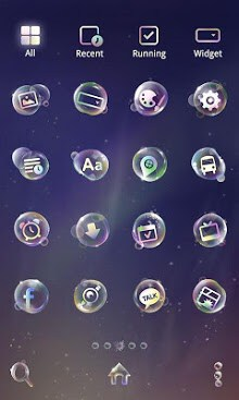 Soap Bubble Dodol Theme-2