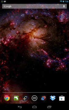 Space Galaxy Live Wallpaper-1
