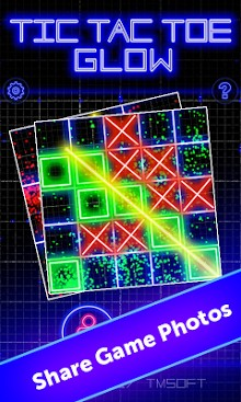 Tic Tac Toe Glow by TMSOFT-1