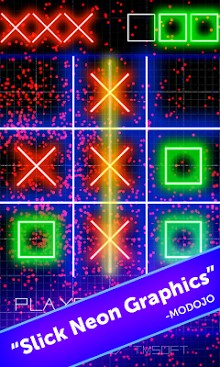 Tic Tac Toe Glow by TMSOFT-2