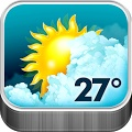 Animated Weather Widget – Clock