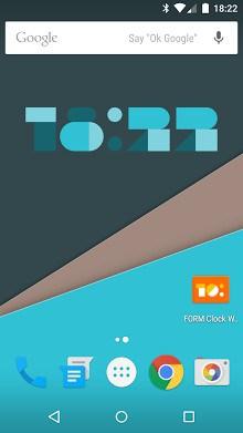 FORM Clock Widget-1