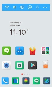 Color Pop LINE Launcher theme-1