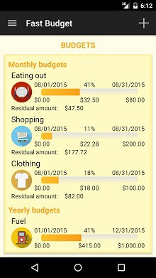 Fast Budget - Expense Manager-2