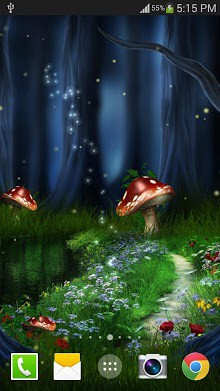 Fireflies Live Wallpaper Free-2