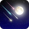 Meteor shower Live Wallpaper