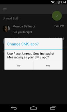 Reset Unread Sms1
