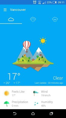 Weather 360 - forecast & widget-1