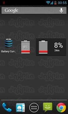 BatteryCurrents Battery Widget-2