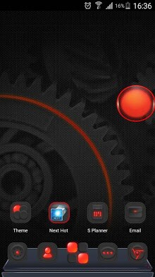 Dark Energy 3D Next Launcher Theme 2in1-2