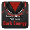 Dark Energy 3D Next Launcher Theme 2in1