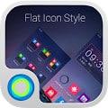 Flat Icon Style Hola Theme
