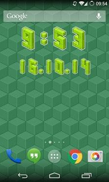 Pixel Art Clock-2