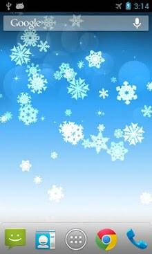 Snowflake Live Wallpaper-1