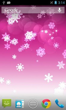 Snowflake Live Wallpaper-2