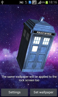 TARDIS 3D Live Wallpaper-1