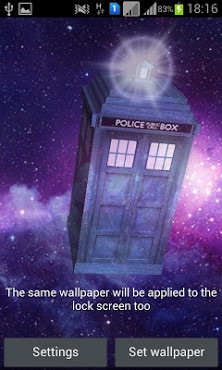 TARDIS 3D Live Wallpaper-2