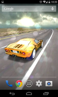 3D Car Live Wallpaper Free-2