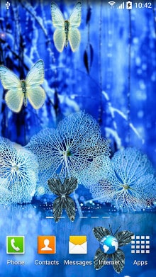 Abstract Butterflies Wallpaper-2