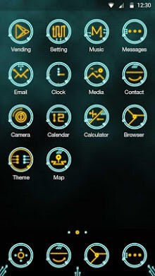 Circuit Hola Launcher Theme-2