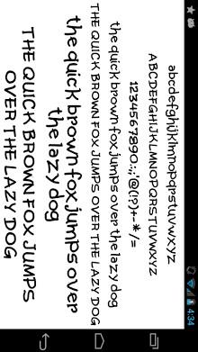 Fonts for FlipFont 50 Written-1