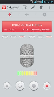 Hi-Quality Voice Recorder MP3-1