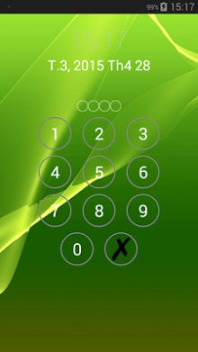 Lock screen password-1