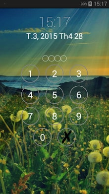 Lock screen password-2