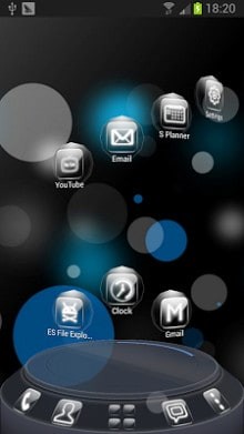 Glass Next Launcher 3D Theme-1