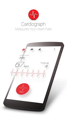 Cardiograph - Heart Rate Meter-1