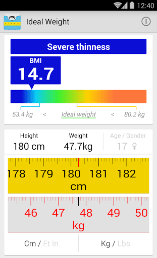 Simple way to calculate bmi
