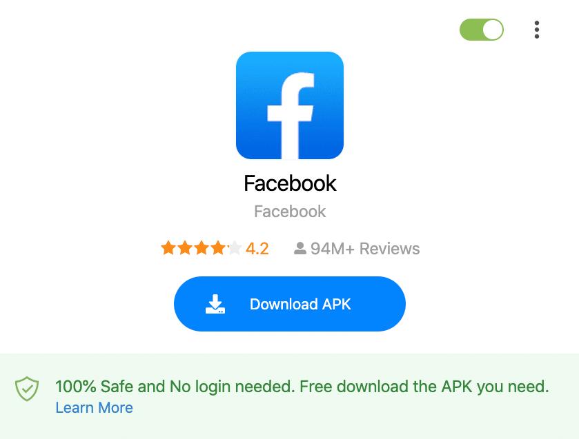 APK Downloader Browser Extension