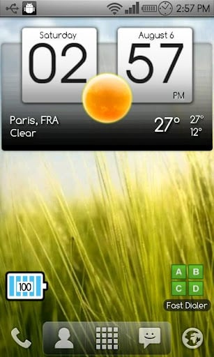 Digital clock & world weather APK Download For Android