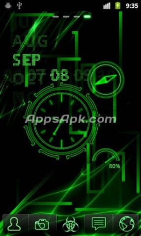 Neon Clock Live wallpaper | APK Download For Android