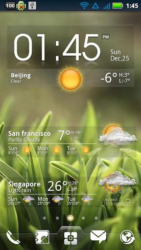 EZ Clock & Weather Widget   APK Download For Android